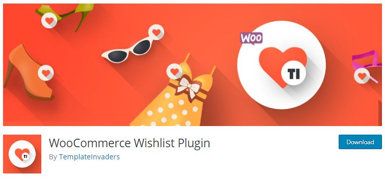 WooCommerce Wishlist Plugin.