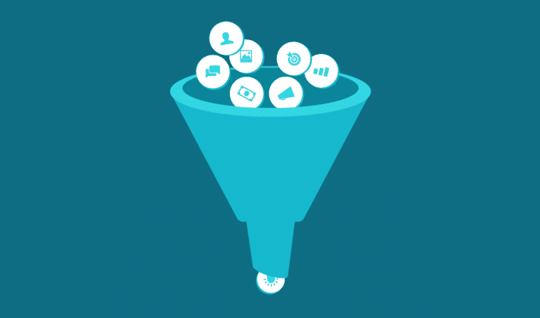 Funnel o embudo de conversion